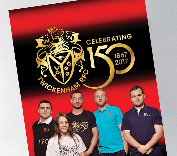 Brochure for TRFC clothing
