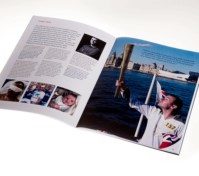 Spread from BVUK fundraising concert programme