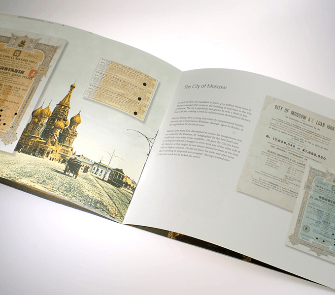 Spread from Russia booklet