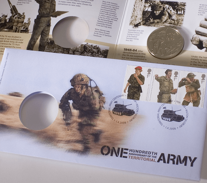 100th Anniversary of the Territorial Army pack