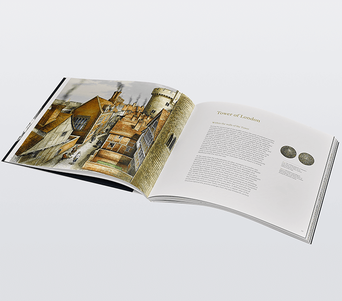 The Royal Mint: an Illustrated History, Tower of London spread