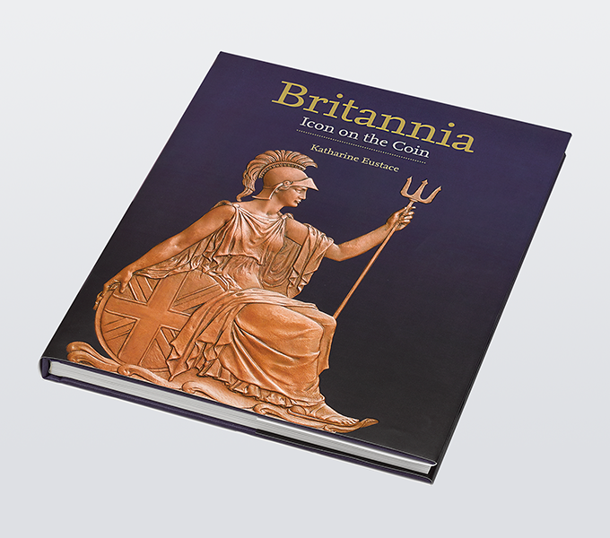 Britannia: Icon on the Coin, Royal Mint Museum illustrated book cover