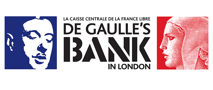 De Gaulle's Bank Exhibition identity
