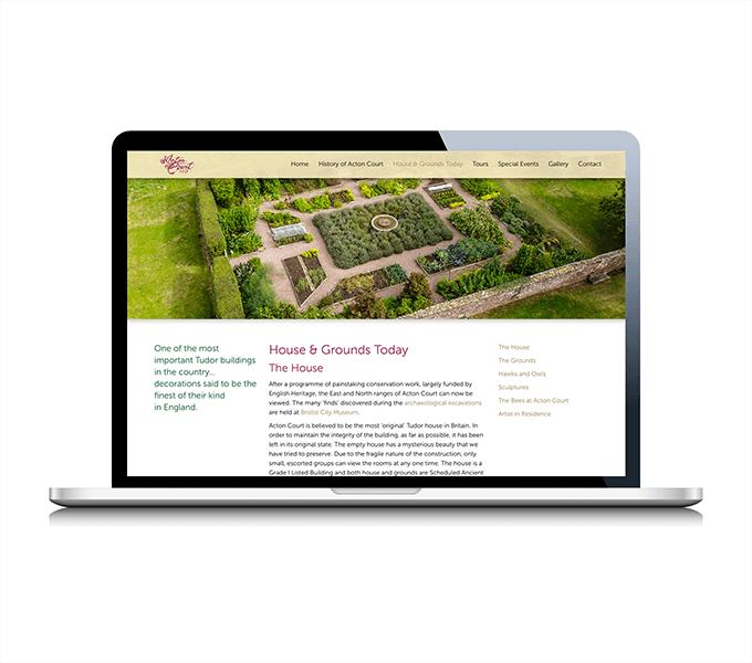 Actoncourt.com responsive website