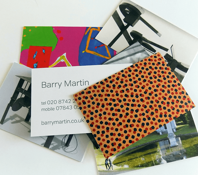 Barry Martin cards